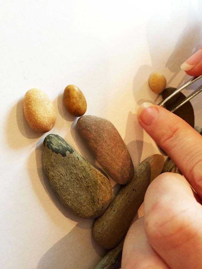 Pebble Art Making