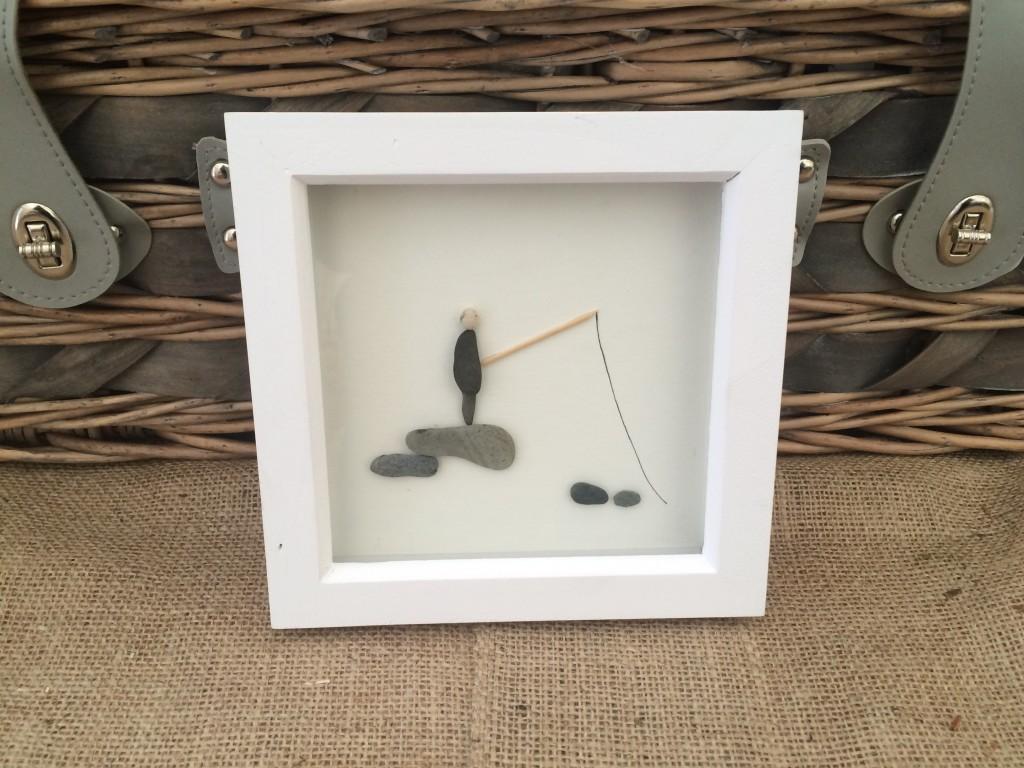 Pebble Art Fishing Out