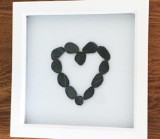 Pebble Art Pictures Shop - See beautiful pebble art gifts
