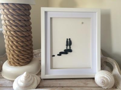 Pebble Art Lovers Lamp