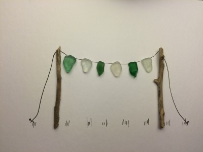 Pebble Art Pictures Bunting